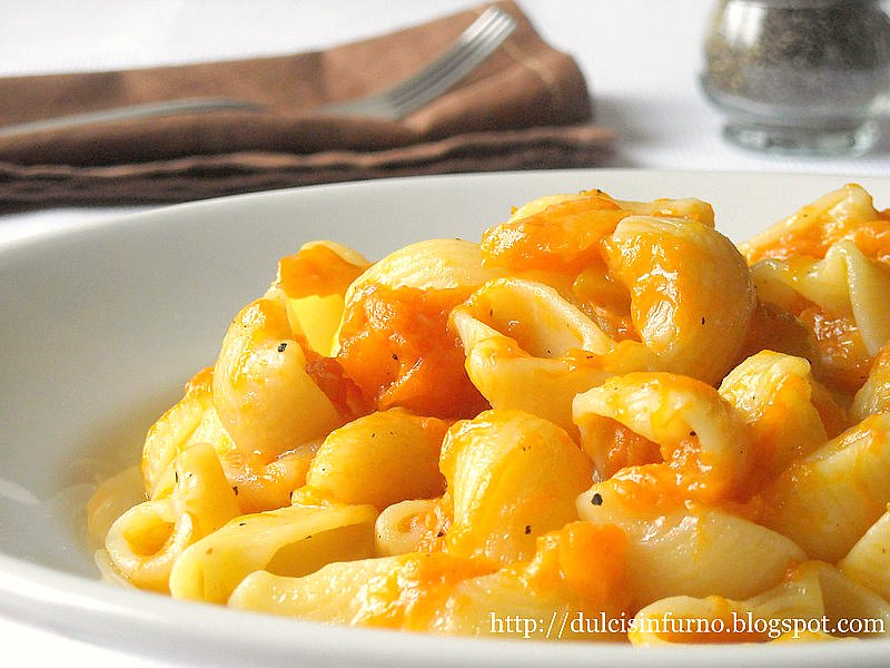 Pipe alla Zucca-Pasta with Pumpkin