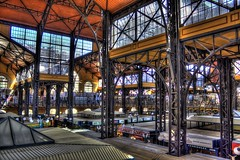inside the great market hall in Budapest (HDR) (Markus_Berger_Pictures) Tags: old building canon eos hall europe hungary market great budapest ungarn hdr hdri gellert skyfreezer