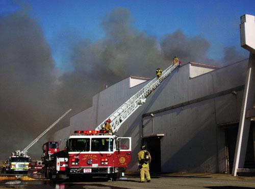Vallejo Wine Central Warehouse Fire