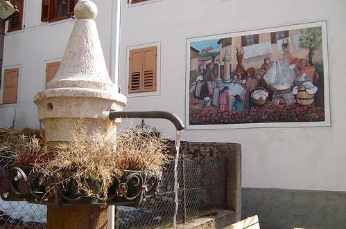 fontana pubblica a tonadico (TN)