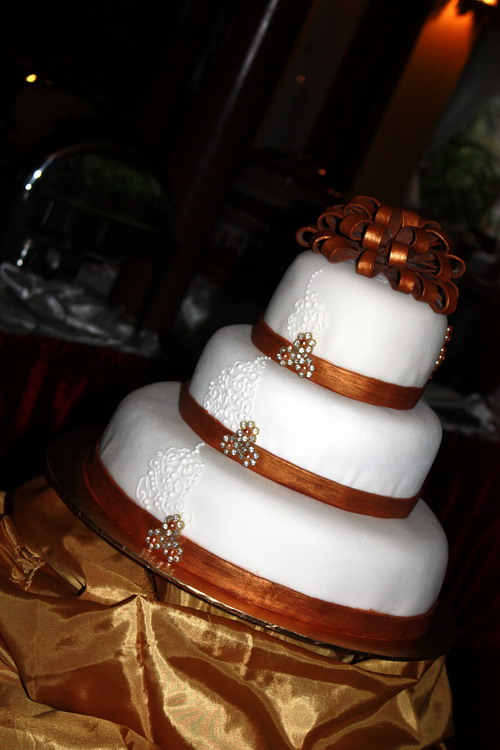Fai & Chean wedding cake 1