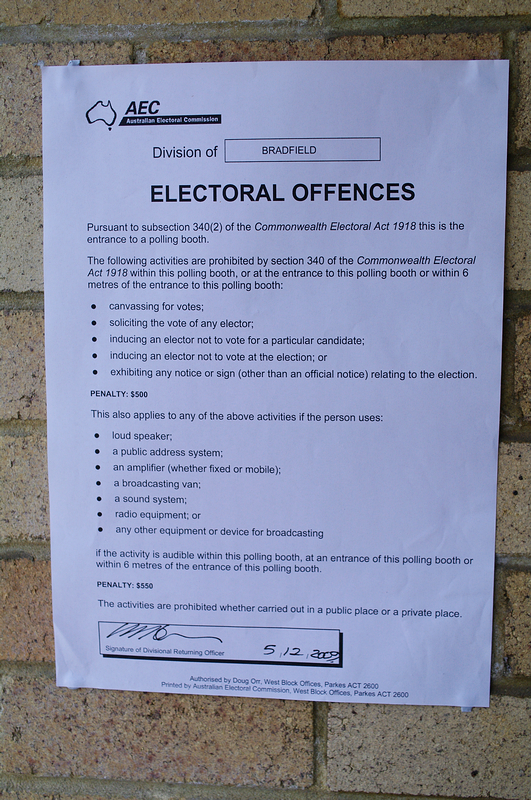 Electral Offences
