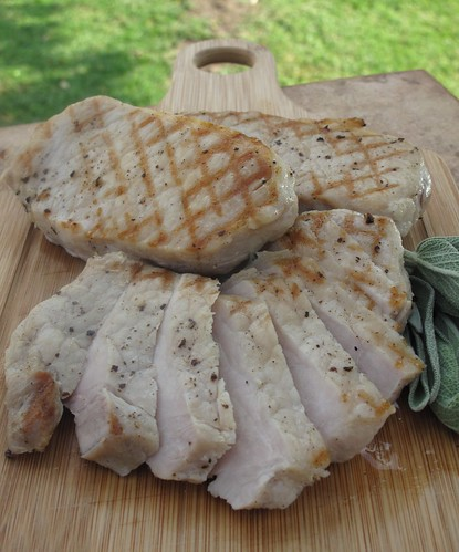 Grilled Salted Pork chop