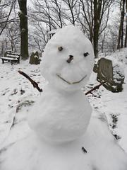 My Snowman BB (Minnie Wong) Tags: winter white snow cute snowman 冬天 雪 雪人 雪球