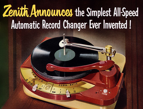 all speed authomatic record changer 1950
