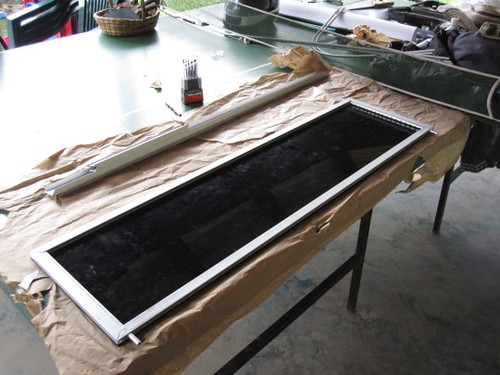 Solar water heater prototype 2 - internals