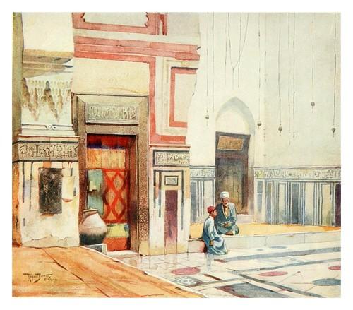 025- Mezquita El Ghoree en el Cairo-Cairo, Jerusalem, and Damascus..1907- Margoliouth D. S.