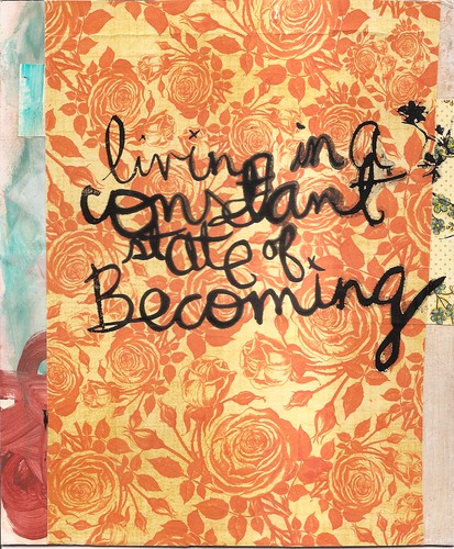 a state of becoming