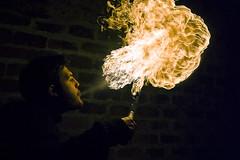 3 (daniele simonelli) Tags: orange black fire juggler fuoco arancione fiamme giocoliere sputare sputo sputafuoco spittingfire