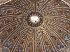 the dome in St Peters (b16dyr) Tags: stpeters rome architecture murals cupola romesept08