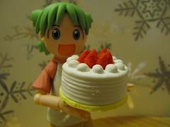 Cake (Yoshi Gizmo) Tags: girl canon toy japanese powershot figure collectable yotsuba revoltech sx200is yoshigizmo