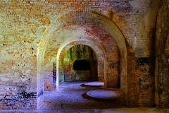 Fate Took It's Course (Mona Hura) Tags: county beach coast arch gulf florida fort bricks security pensacola panhandle homeland pickens escambia 1455c