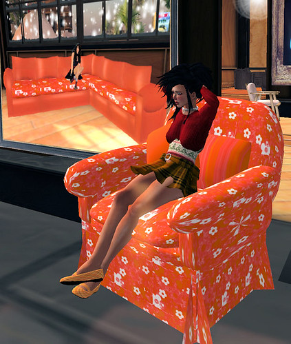 50L Weekend Just my Imagination sofa and chair