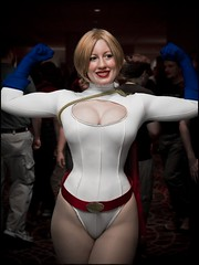 Power Girl (BelleChere) Tags: girl costume comic power cosplay superhero dccomics bellechere powergirl