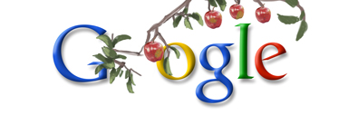 Google Newton Tree Logo
