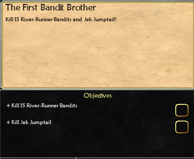 Anglorum / Quest / The First Bandit Brother (Jek Jumptail) 4252190161_ed56355cfd_o