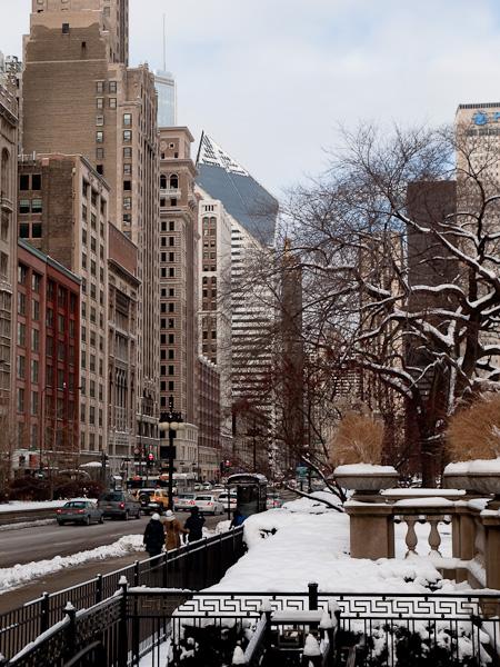 Michigan Avenue in Chicagos Loop