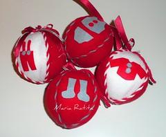 Bolas de Natal (Maria Ratita) Tags: natal de bolas