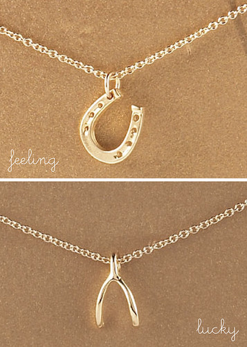 DOGEARED PENDANT NECKLACES