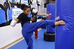 Cardio Kickboxing Class in Brooklyn Ditmas Park at Urban Martial Arts