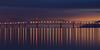 Aligned (maxxsmart) Tags: sanfrancisco california bridge winter color reflection clouds sunrise canon bay january baybridge bayarea marincounty sanrafael 2010 ef70200f4l sanrafaelbridge passingstorm aligned nofilters itsnotalwaysbwor1x1