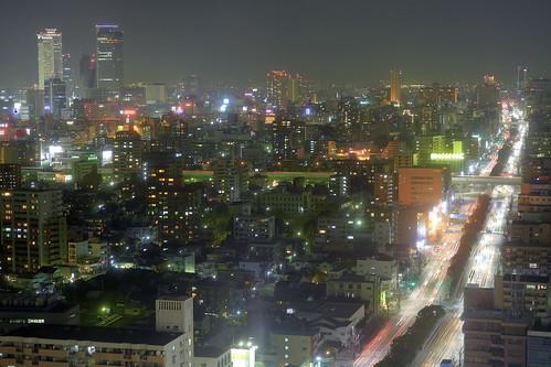 Nagoya di notte HDR