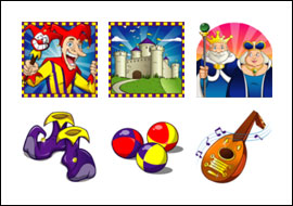 free Jolly Jester slot game symbols