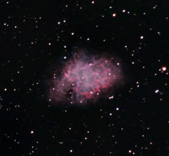 Image Integration-Pixinsight (RBG) (Astrocatou) Tags: m1 crabnebula