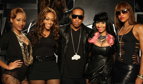 LUDACRIS FT NICKI MINAJ MY BAD CHICK VIDEO SHOOT