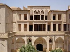 Kashan, Abbasiyyan House (16) (Prof. Mortel) Tags: iran kashan