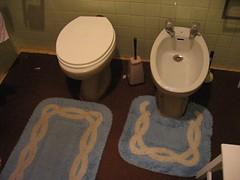 Algueirão 2 (Miguel Sousa Pinto) Tags: bathroom toilet 1970s bidé
