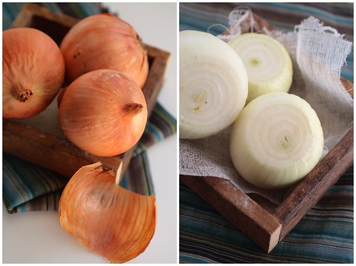 Onions whole and peeled