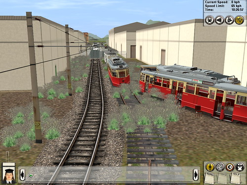 Working On A Tram Route