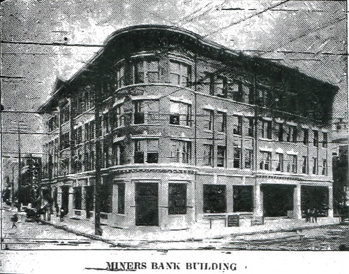 Miners Bank opening
