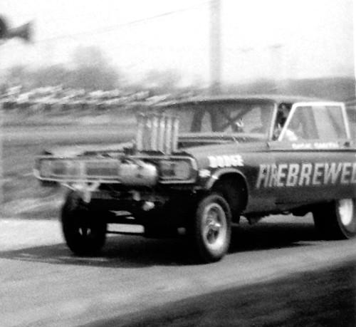 Firebrewed Dodge funny car