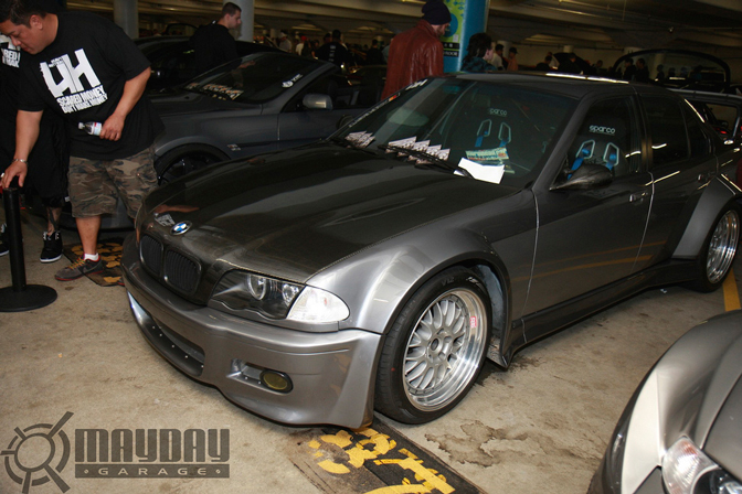 Another Widebody M, this time an E36