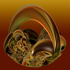 Glints of Gold (freetoglow (Gloria)) Tags: photoshop sensational fractal visualart incendia wowiekazowie photoartwork colourmania