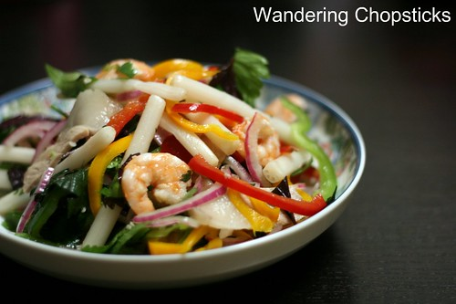 Goi Cu Sen Non Tom Thit (Vietnamese Young Lotus Root Salad with Shrimp and Pork) 1
