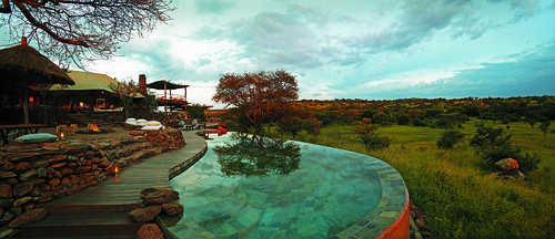 Singita Faru Faru Lodge - The Swimming Pool.
