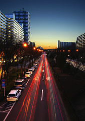 40 | 40 (torode) Tags: longexposure bridge blue red cars traffic sony pedestrian  40 speedlimit 1855   taillights   hikarigaoka   nd4filter nd8filter a550 sonyalphaftw bentorode benjamintorode