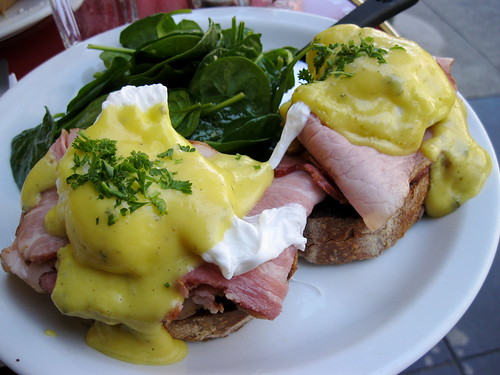The Butler & The Chef Bistro's eggs Benedict