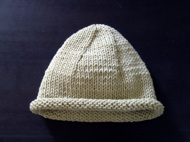 Baby's Beanie Hat from SImple Knits for Cherished Babies