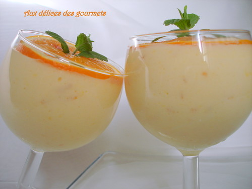 aux d 233 lices des gourmets mousse a l orange