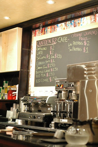Canteen 82 espresso bar