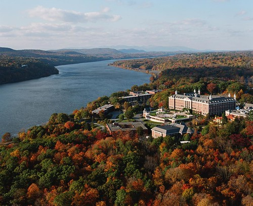 The Culinary Institute of America in Fall