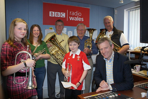 Jeremy Vine and guests in BBC Wales' Wrexham studio