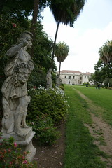 statues garden & main house