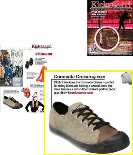 Kickstand Magazine - April 2010 Cover