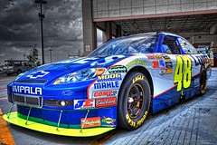 Jimmie Johnson Lowes Racing #48 Car (Matt Pasant) Tags: car race speed canon eos photo team aperture day time chad mark johnson racing ii nascar handheld specs 5d usm lowes ef hdr jimmie showcar 2470mm littleelm f28l kobalt knaus samsungmobile500