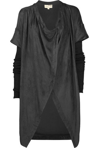 elizabeth and james olivis poncho drape coat